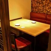 2名様~4名様用 テーブル席