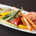 料理メニュー写真★糸島野菜のグリル盛り合わせ