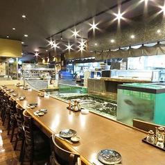 新三重漁港 長崎さかな市場 銅座店の雰囲気1