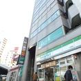 【各線天満橋駅徒歩1分★】天満橋駅 2番出口を出て京阪モールの南向かいファミリーマートが入っているビルの【9階】★