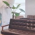 ■BALI■ 大人モダンの空間です。シックにソファーのお席でかっこよく♪