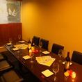 8名様までのテーブル席あります。飲み会やコンパ、女子会にも最適でございます◎お客様のご来店心よりお待ちしております♪♪♪池袋/バル/女子会/ワイン/宴会/飲み放題/誕生日/記念日/貸切/パーティー/ダチョウ/ラム/鴨/肉料理