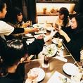 テーブル席☆5名様~6名様☆女子会、宴会にもおすすめ♪