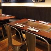 4名ベンチシートテーブル×1卓