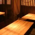 10名様までの宴会、接待に最適なテーブル席個室