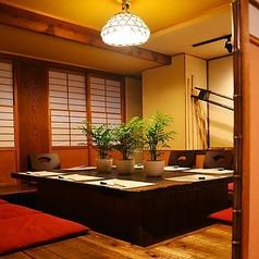 使い勝手の良い、個室をご用意できます。