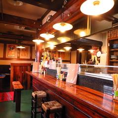 常連さんでいつも賑わっているカウンター席!お一人様も大歓迎です♪おすすめの料理やドリンクなど、お気軽にスタッフへお声掛けください。お好みに合わせご提案させていただきます。【岡山/岡山駅/伊福/焼鳥/焼き鳥/日本酒/宴会/女子会/居酒屋/肉/やきとり】