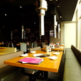 新宿の景色を楽しみながらお食事をお楽しみいただけます
