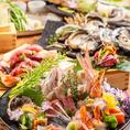 鮮魚10種・7種・5種盛り…他にもその日に仕入れた美味しい鮮魚・魚介をお刺身でご提供します!腕の良い料理人が店舗にいるからこそ楽しめる味になっております!もちろんお刺身以外に煮物や焼物でもお楽しみ頂けます