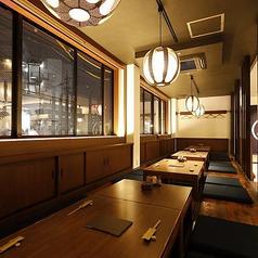 天ぷら かま飯酒場 宴 刈谷駅店の雰囲気1