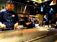 【梅田で飲み会なら!】多彩な鉄板焼きでおもてなし♪