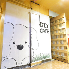 DIYcafe 難波アメ村店の外観2