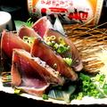 料理メニュー写真【夏のおすすめ】鰹の刺し