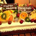 【Wedding】ご要望頂ければ豪華オリジナルケーキもご用意致します♪まずはお問い合わせください。