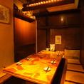 静寂な和の癒し空間をイメージした和情緒個室は最大27名様までの宴会OK♪