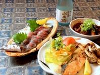 ◆鮮魚を毎日仕入◆週末は珍魚に出会えることも…!