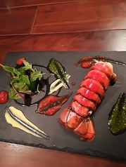 料理メニュー写真オマール海老の半熟ポワレ
