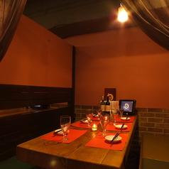 個室のお席はゆったり広々★合コンや女子会などプライベートな宴会に最適です♪