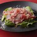 料理メニュー写真スペイン産生ハム ハモンセラーノ