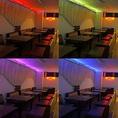 【カラフルなお祝い】LEDライトで色んな色を★サプライズのお手伝いをします♪