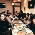 テーブル席☆~10名様☆宴会にもおすすめ♪