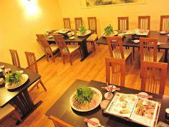 酒菜 刀削麺 トウショウメンの雰囲気2