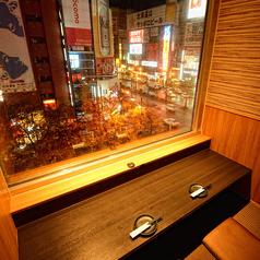 5組限定♪夜景が一望できる♪夜景カップル席は雰囲気抜群でデートに最適です!