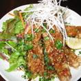 【ランチ】 日替わりのお刺身・お魚・お肉メニューの他、定番の唐揚げやひと手間加えた納豆定食まで!ランチメニューも豊富にご用意しております。