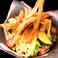 根菜チップのパリパリ和風サラダ