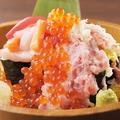 料理メニュー写真豪快!海鮮こぼれ寿司