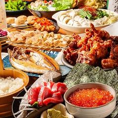 町の焼き鳥レストラン トリ太鼓 キャポ大谷地店のコース写真