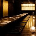 団体様も個室でご案内!きらびやかな装飾と木目の温もりある和モダン空間はプライベートな飲み会から会社宴会まで幅広くお使いいただけます☆雰囲気抜群の空間で上質な時間を…♪
