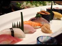 本格的なお寿司も楽しめる