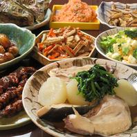 週替わりにて季節のお料理をご提供しております。