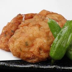 料理メニュー写真手作りのふわふわ薩摩揚げ/鶏軟骨の唐揚げ