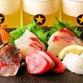 料理メニュー写真長崎県産鮮魚の5点盛