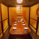 テーブル席(イス席)のタイプの個室もございます!(2~6名様)