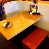 【4名様】レイアウト変更可能なテーブル席。シーンに合わせてご利用ください!