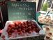 地元農園の朝どれイチゴを使用しております。
