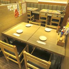 【新宿西口】少人数でのご利用にオススメのテーブル席◎