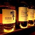 カクテルなど飲まないお客様にもウィスキーなどももちろんご用意しております。今後もお客様のリクエストにこたえて、希少価値の高いウィスキーの品揃えの予定です。【個室 町田 飲み放題 誕生日】