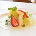 料理メニュー写真季節のフルーツ カプレーゼ
