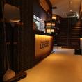 雰囲気抜群!!中野駅近くのイタリアン♪店内入口はゆったりしてます♪