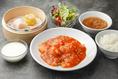 エビのチリソース定食:980円(税込)