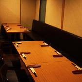 5名様から利用可の完全個室空間!