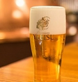 生ビールは鮮度が命!きめ細かいクリーミーな泡!のどごし抜群!!【ヱビス生ビール】宴会コースもヱビス生ビールが飲み放題に♪