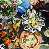 ◆牡蠣料理盛りだくさん!!宴会コース◆
