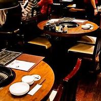 2~14名様対応のテーブル席【幅広いニーズに対応】