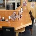 おひとり様も大歓迎!仕事帰りのサク飲みにもオススメ★カウンターで仕事の帰りにサクっと一杯いかがですか。焼鳥鉄板が旨い店!大小宴会のご予約はお店までご連絡ください!