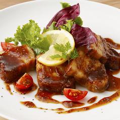 料理メニュー写真ドルチェポルコのロースト ハニーマスタードソース